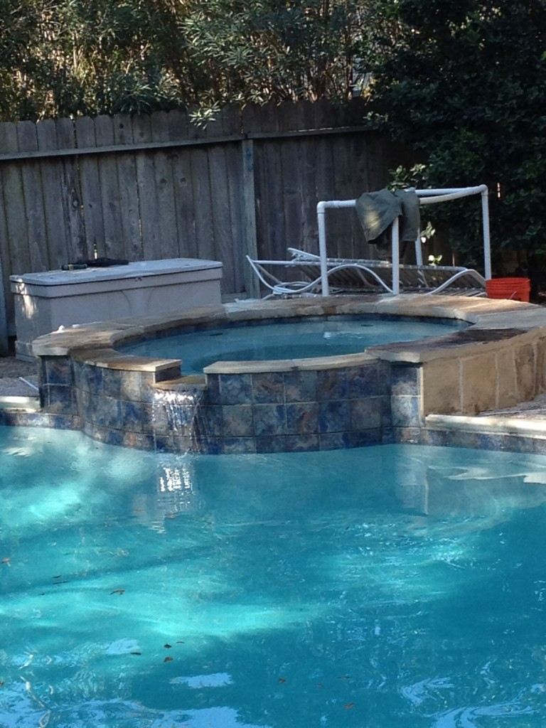 outdoor pool remodeling project austin tx