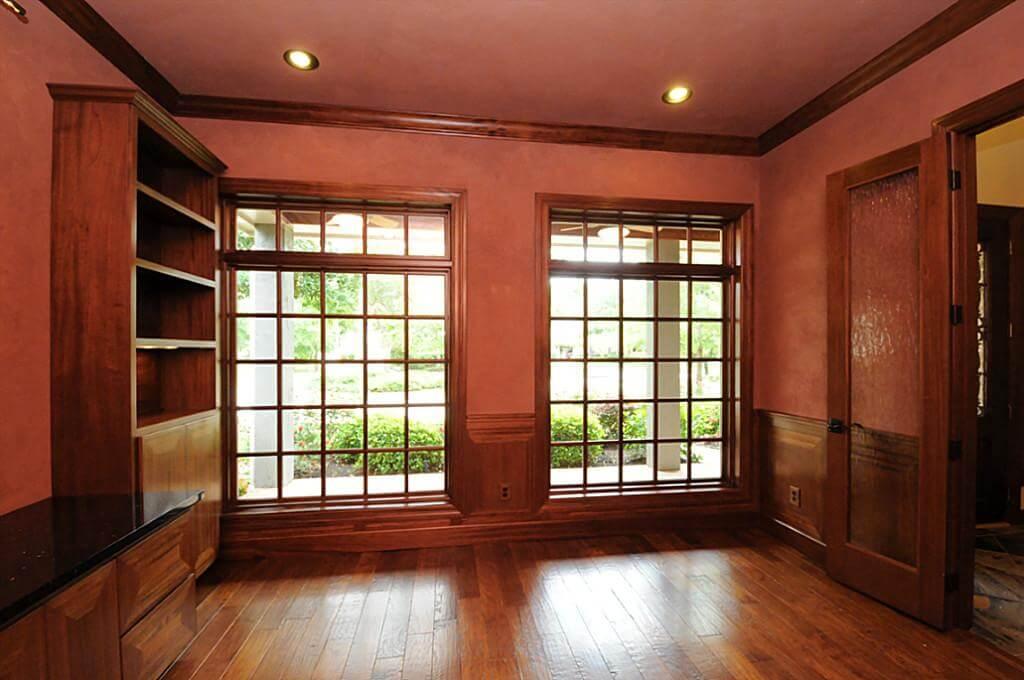 Built-In Bookshelves Austin