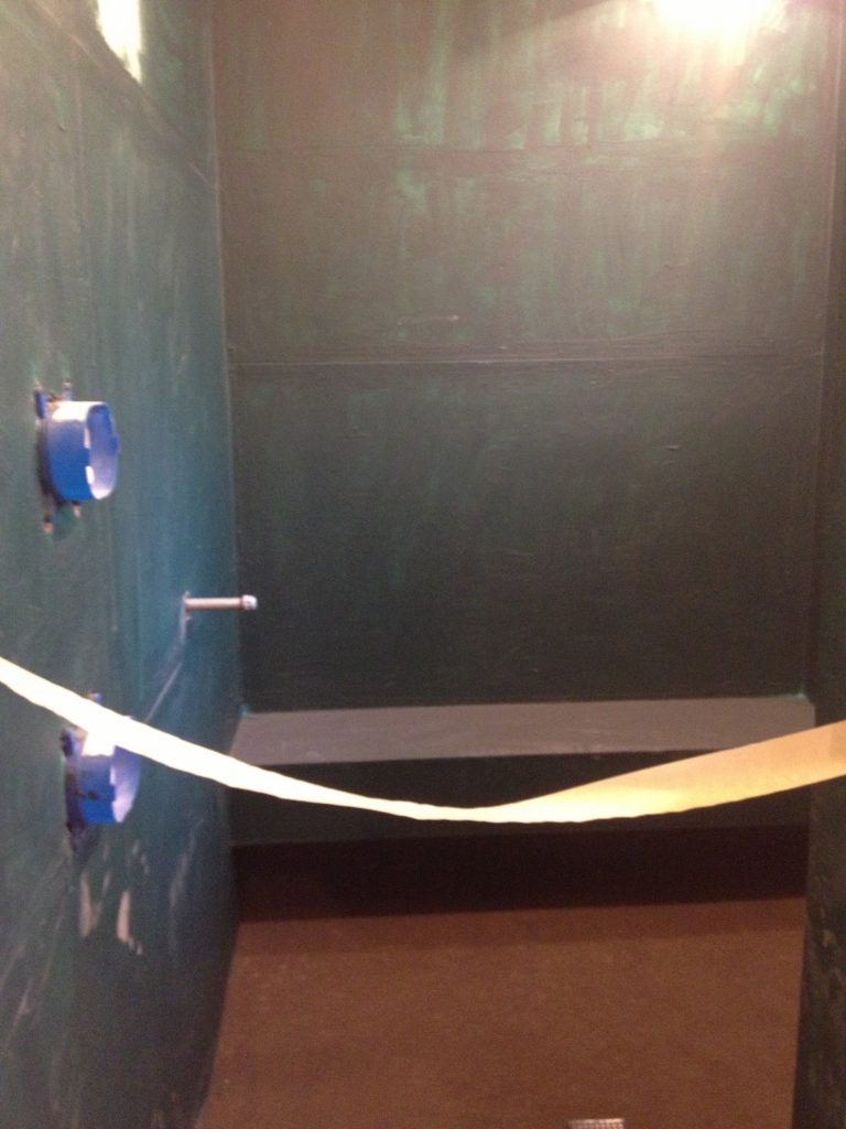 This is a custom shower remodeling contractor in austin TX
