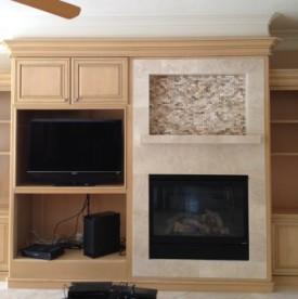 West Lake Hills / Lakeway / Austin Tx fireplace remodeling after