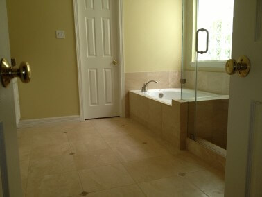 Travertine Bathroom Remodeling in the Lakeway / Austin TX