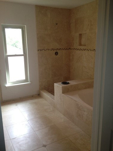 Travertine Bathroom Remodeling Project in Lakeway Tx ...