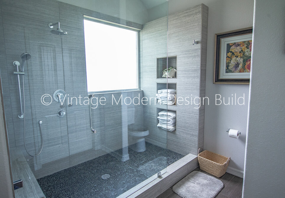 Tub to Shower Bathroom Remodeling Contractor Austin, TX