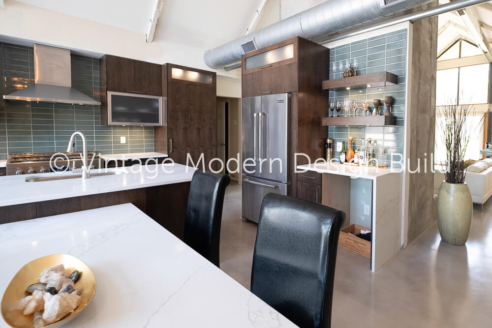 Rustic modern kitchen Remodeling Contractor Austin TX