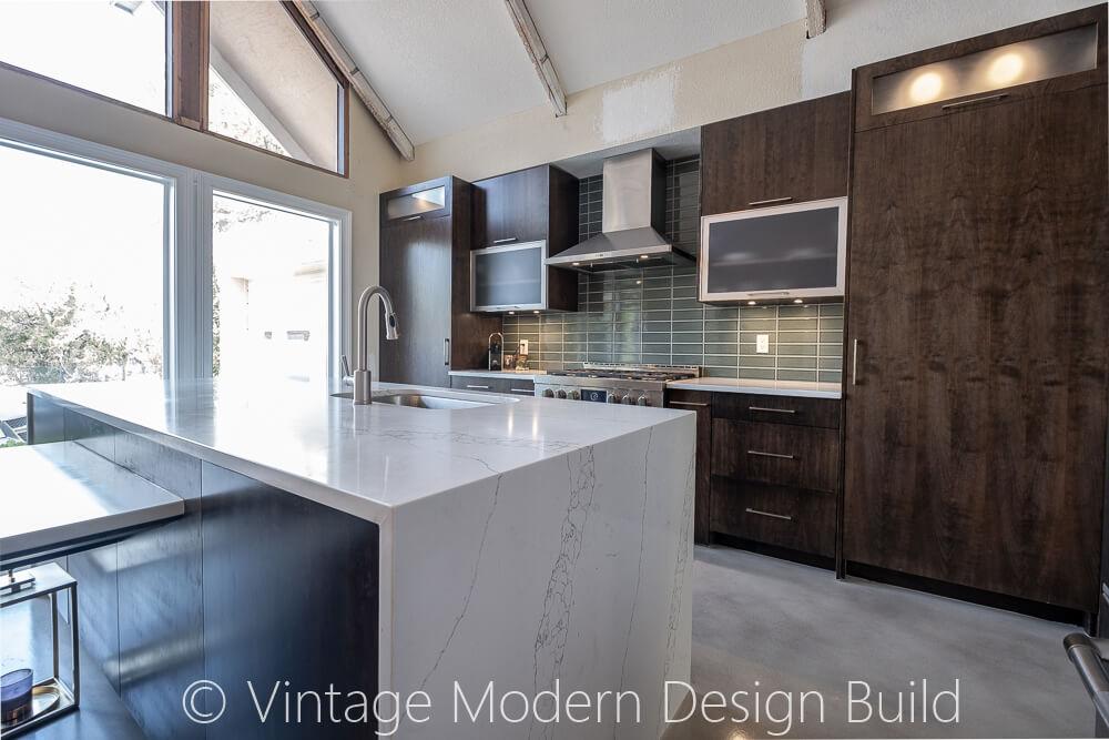 Rustic modern kitchen Remodeling Austin TX