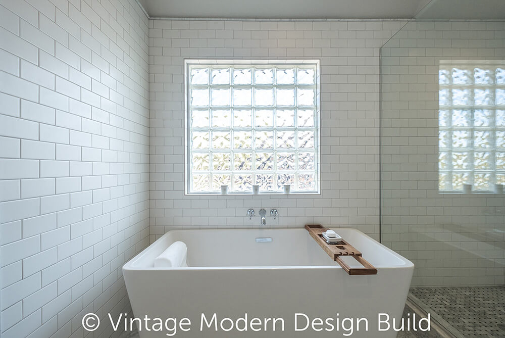 Victorian Transitional Bathroom Remodeling Contractor, Austin, TX