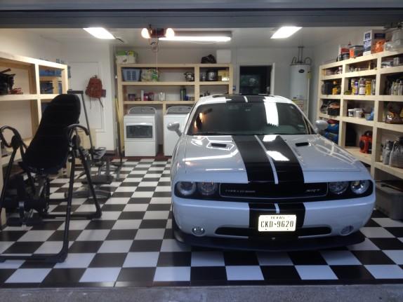 Garage Remodel with custom cabinets Alternative to epoxy floor West Lake HIlls / Lakeway / Austin Tx