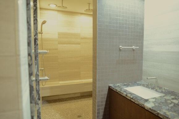 Limestone Bathroom Remodeling West Lake HIlls / Lakeway / Austin Tx