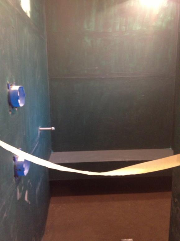 Limestone bathroom remodel dry pack West Lake HIlls / Lakeway / Austin Tx