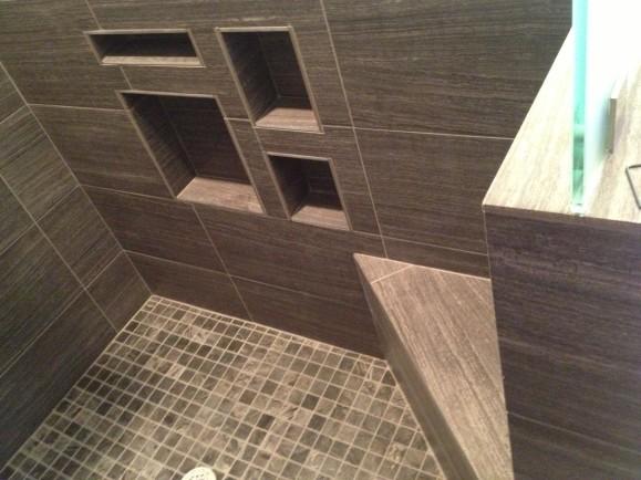 Minimalist Modern Bathroom Remodel in West Lake HIlls / Lakeway / Austin Tx