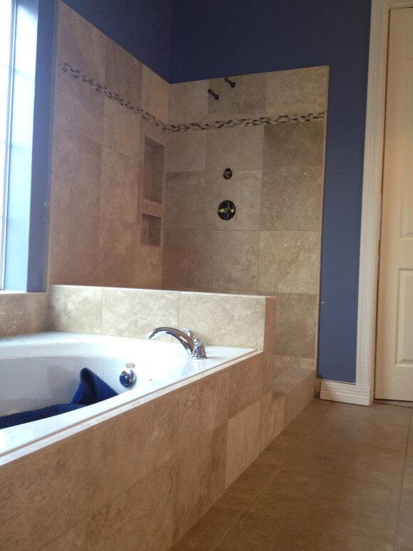 Travertine Bathroom Remodel in Lakeway / Austin Tx ...