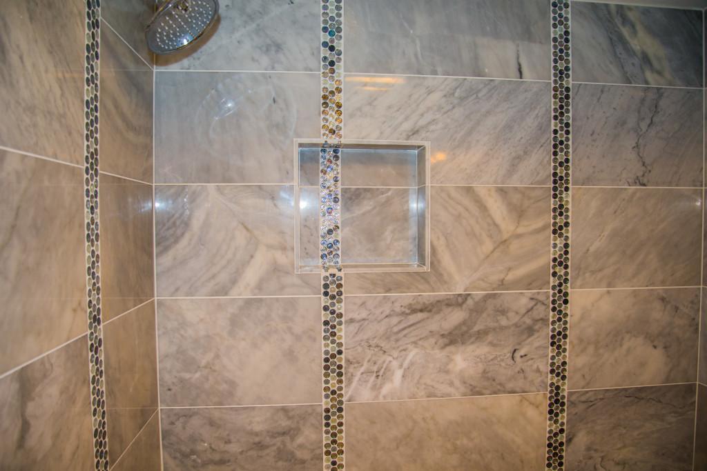 Minimalist Modern Carrara Bianca Bathroom remodeling in Austin Tx