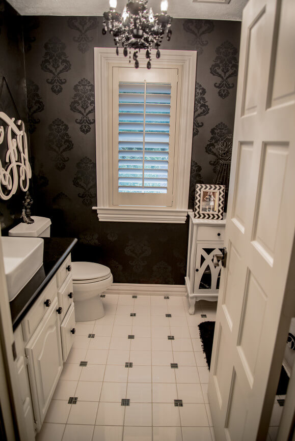 Victorian Modern Bathroom Remodeling Project in Austin Tx by Vintage Modern Design Build