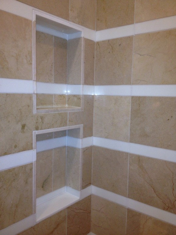 Striped Shower Shampoo box Lakeway / Austin Tx
