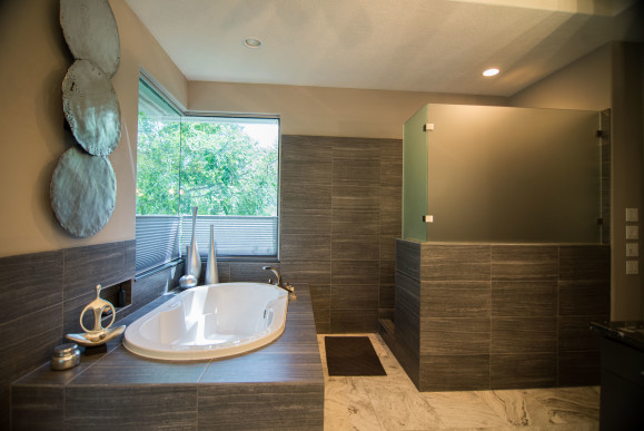 Minimalist Modern Bathroom Remodeling Project in Austin ...