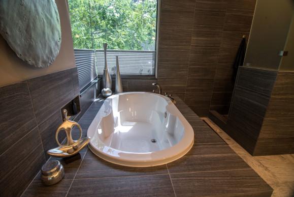 Minimalist Modern Bathroom Remodel in Austin Tx