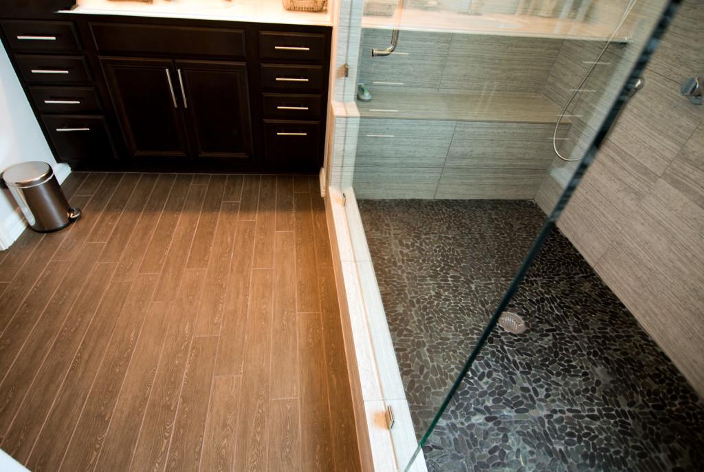 Rustic Modern Bathroom Remodel Lakeway Tx / Austin Tx by Vintage Modern Design Build