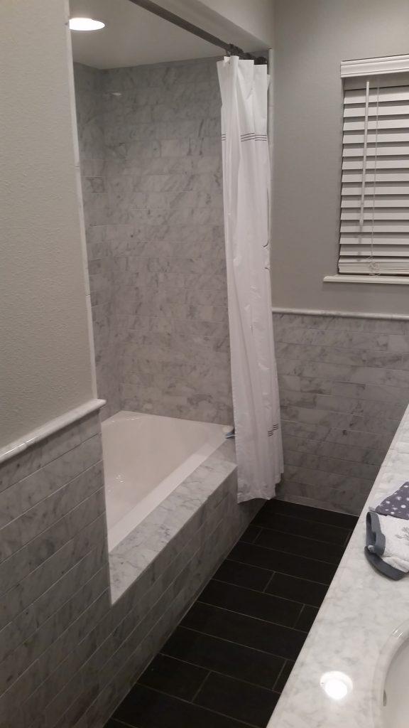 Victorian Guest Bathroom Remodel Austin Tx