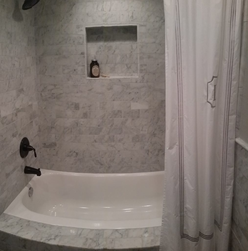 Victorian Guest Bathroom Remodel Austin Tx by Vintage Modern Design Build