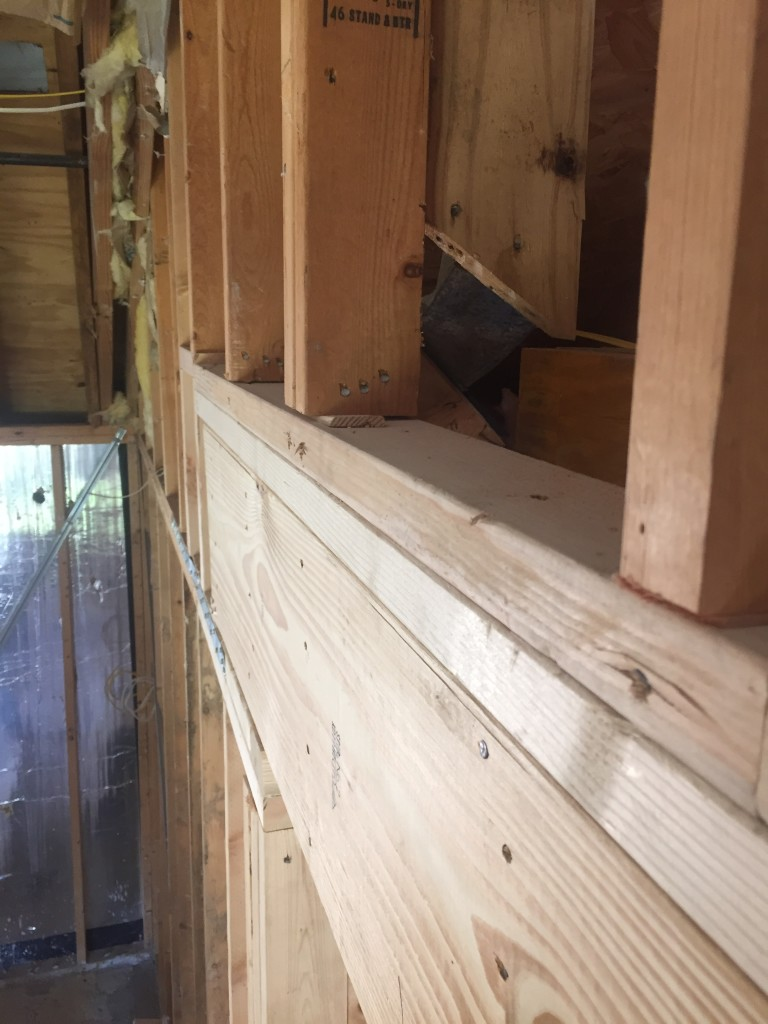Structural framing repairs in Austin Tx by Vintage Modern Design Build