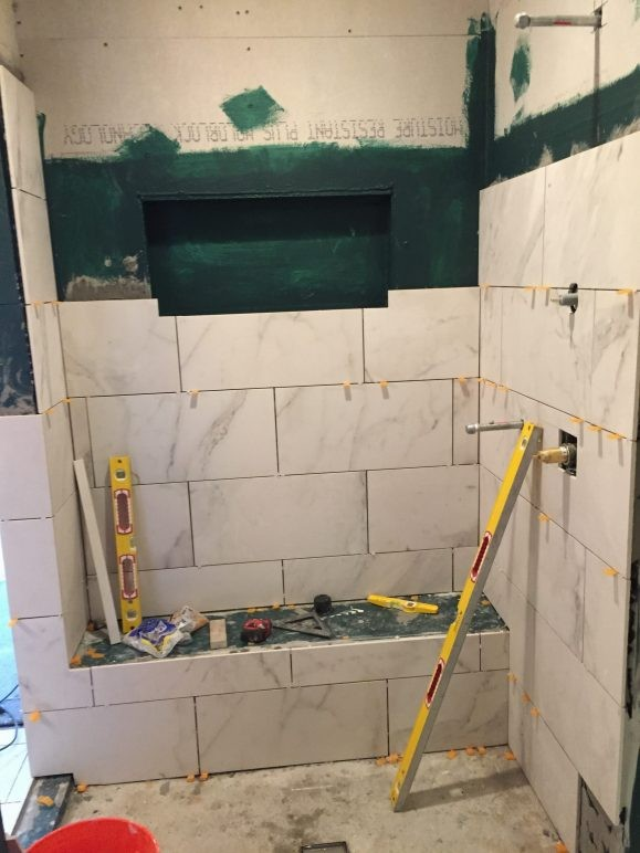 bathroom remodeling project in austin tx by vintage modern design build