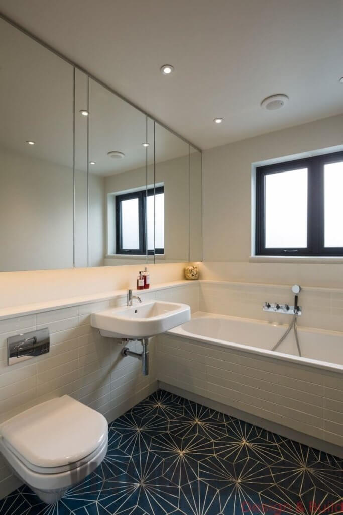 Bathroom Remodeling Project by Vintage Modern Design Build