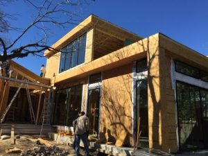 Just installed the windows in this room addition remodeling project in South Austin Tx