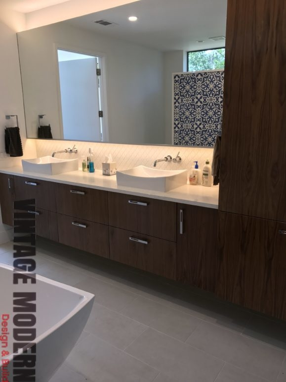 Modern Bathroom Remodeling Project Austin Tx