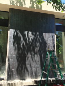 Modern Fireplace Room Addition Remodeling Project Austin Tx