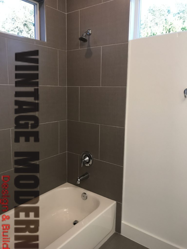 Bathroom design and remodeling project in Austin Tx