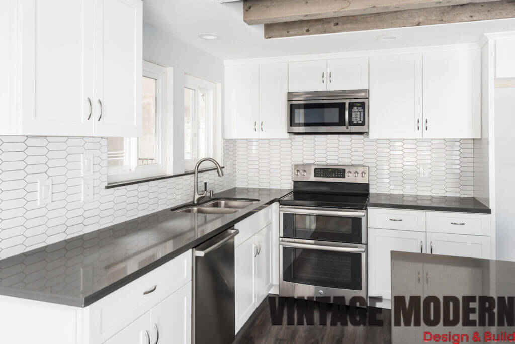 mid century transitional kitchen remodeling project austin tx