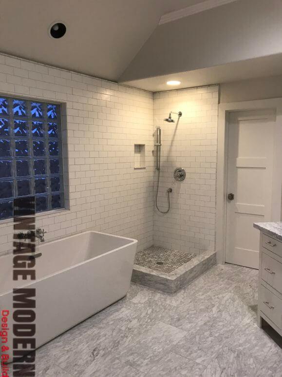 Victorian Transitional Bathroom Remodel Austin Steiner