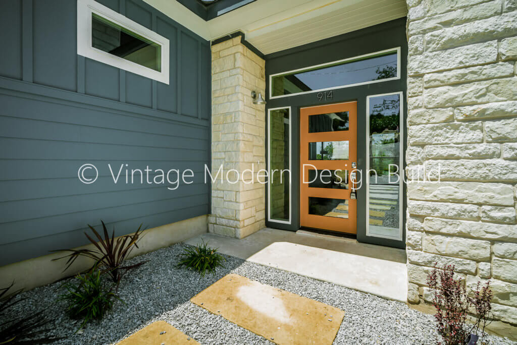 Mid century modern design remodeling / contractor Austin TX