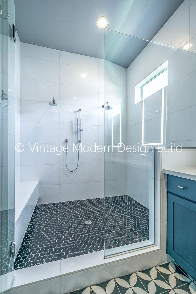 quartz cement tile bathroom remodeling austin