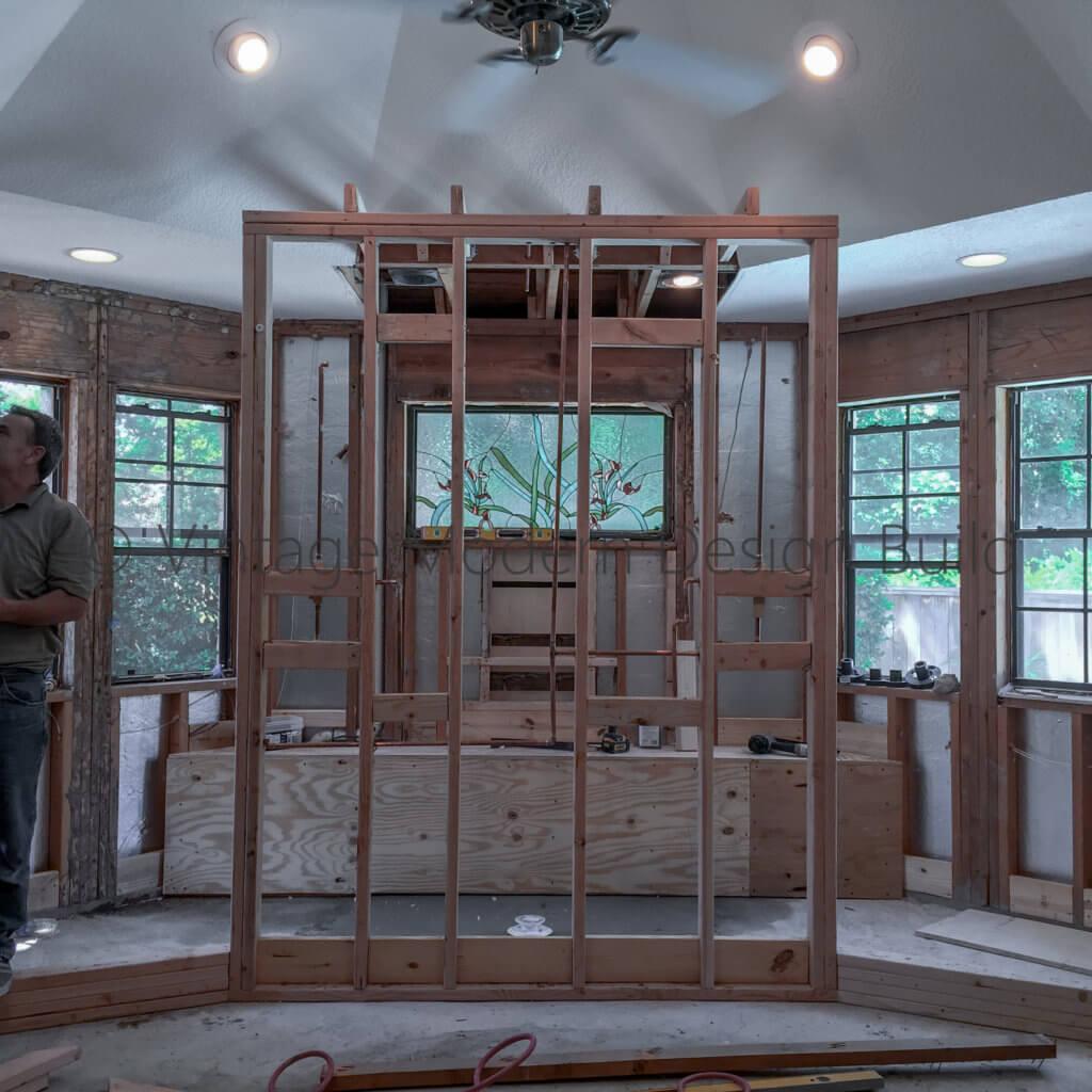 Walk in Shower bathroom remodeling Contractor in Austin TX