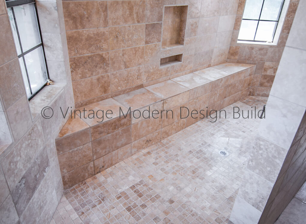 Walk in Shower bathroom remodeling Contractor in Austin TX