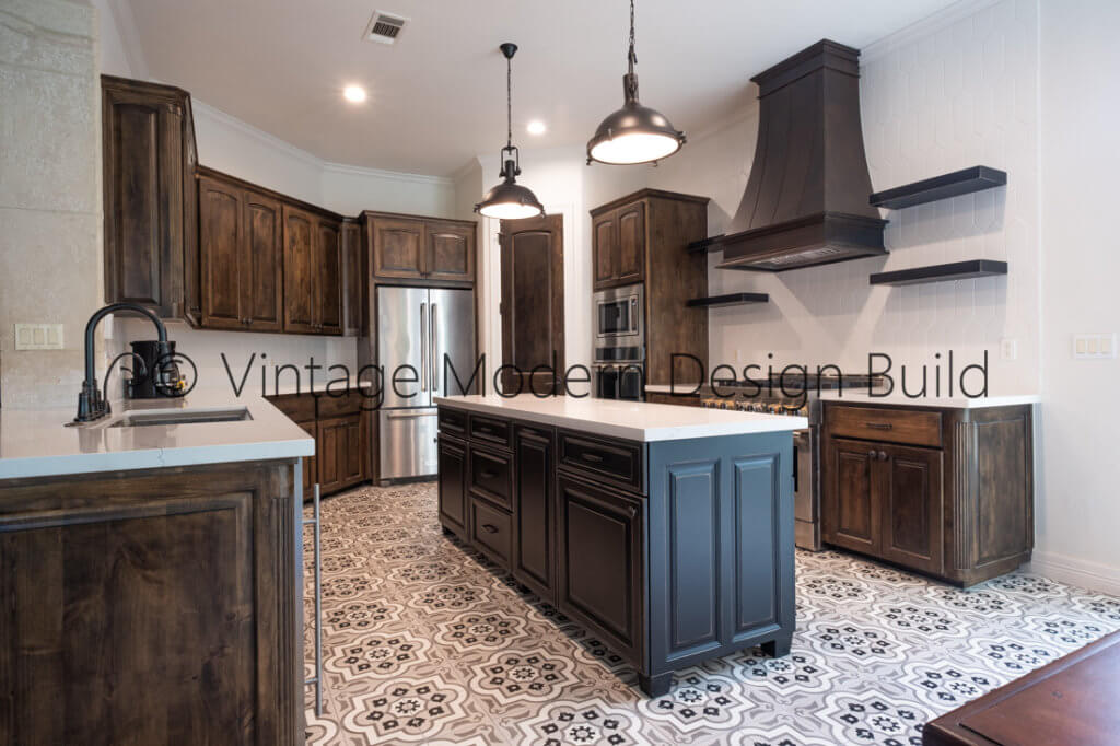 European transitional kitchen remodeling project Lakeway TX / Austin TX
