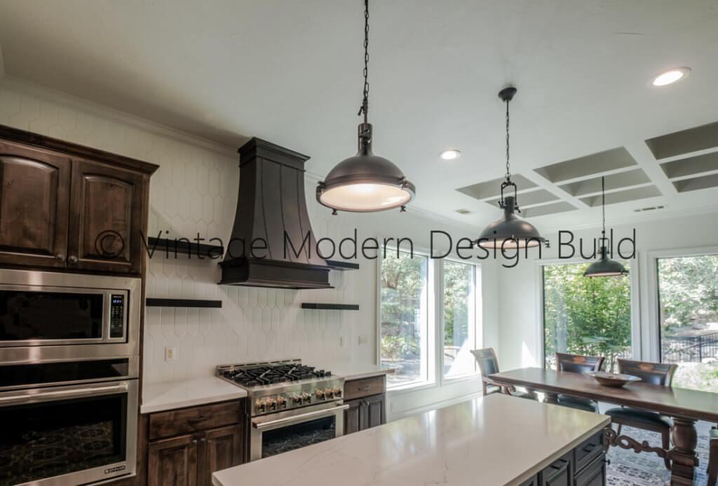 European transitional kitchen remodeling project Lakeway TX / Austin TX