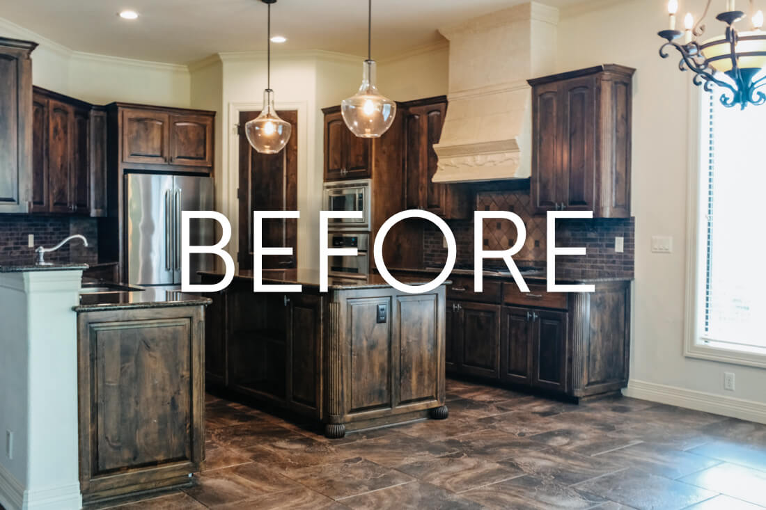 European Transitional Kitchen Remodel Austin TX - Vintage ...