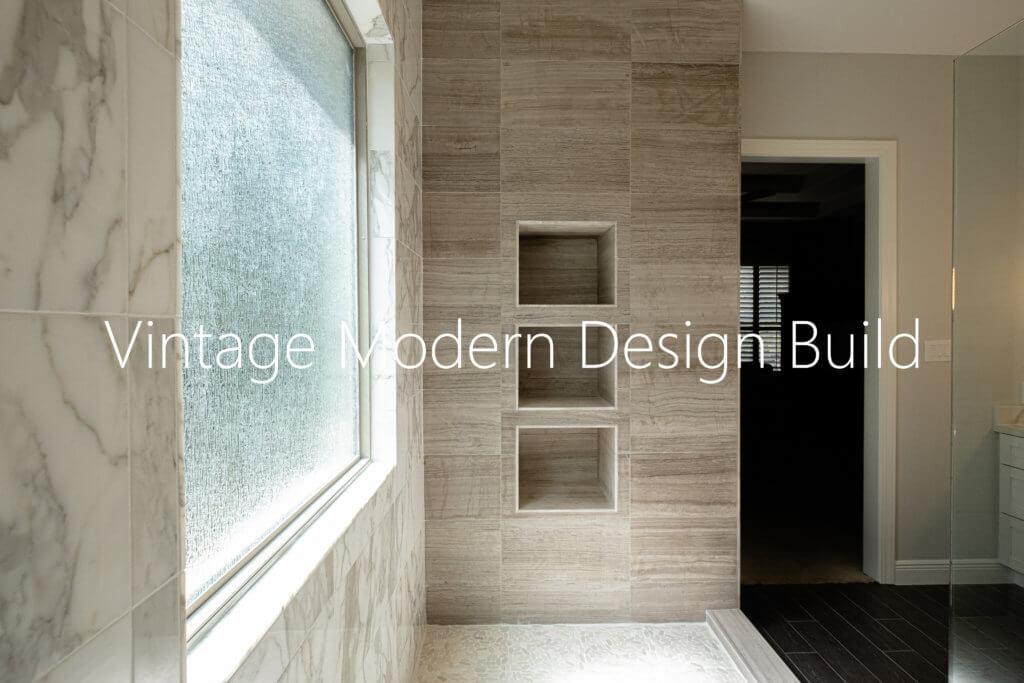 Minimalist Modern Calacatta Gold Marble Bathroom Remodeling Austin TX