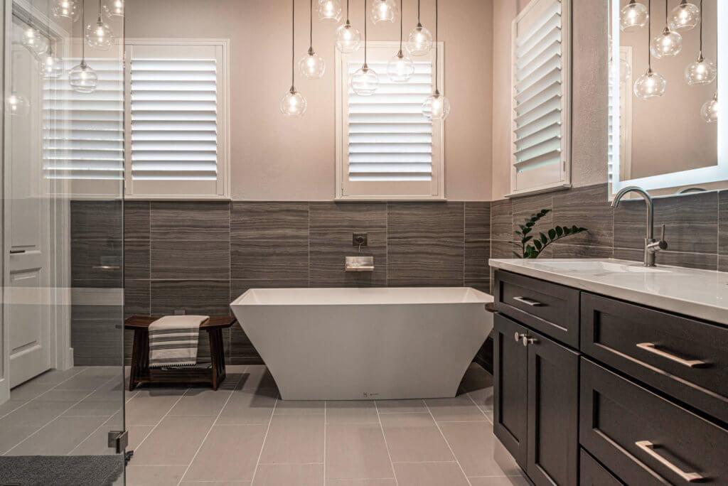 Austin Bathroom Remodel - Vintage Modern Design Build