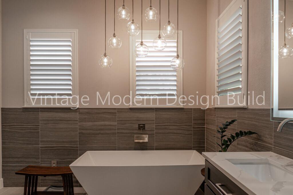 Minimalist modern Bathroom Remodeling Austin TX / Lakeway TX