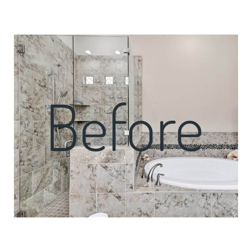 Modern Marble bathroom remodeling Austin / West Lake Hills TX
