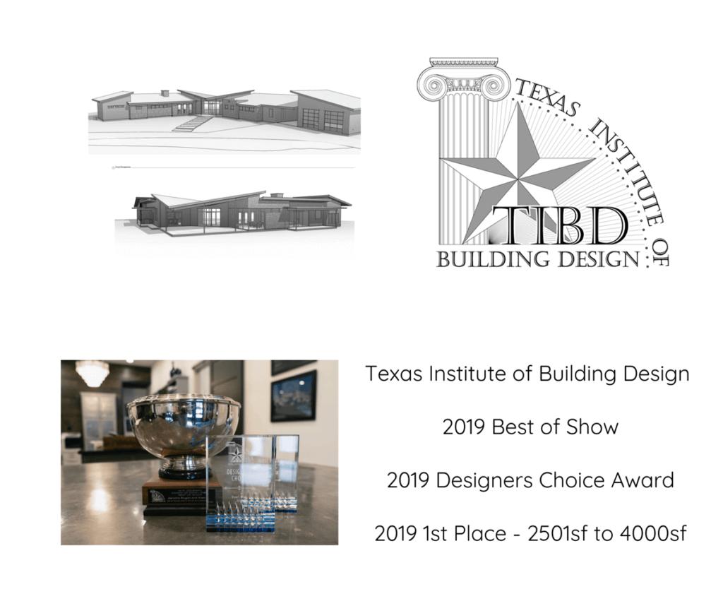 Texas Institute of Building Design Award